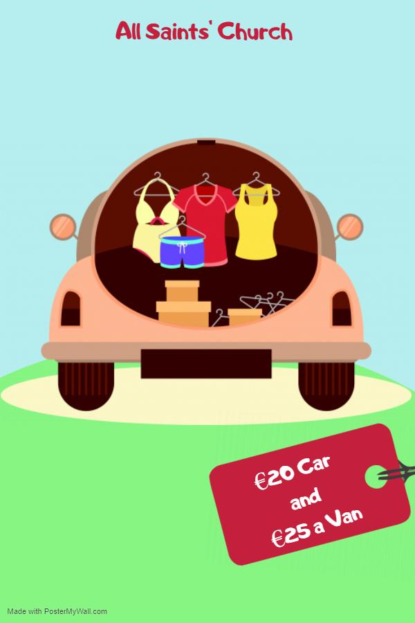 Raheny Car Boot Sale!